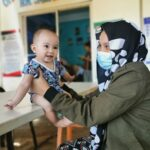 Keeping children healthy by equipping barangay health stations