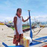 Fishermen receive new boats in Sorsogon